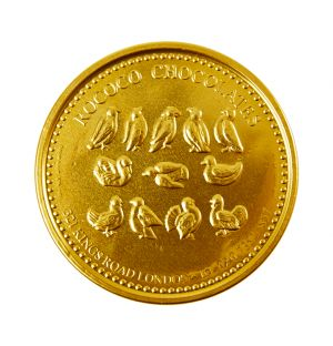Large Milk Chocolate Coin