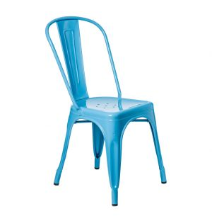 Tolix A Chair in Blue