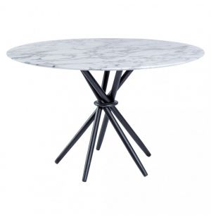 Stix Dining Table Marble 120cm