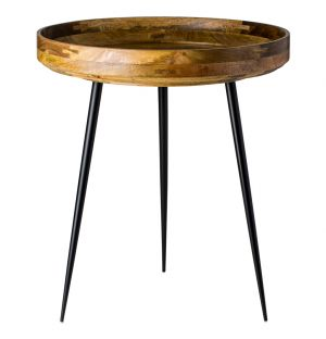 Bowl Side Table Medium Natural