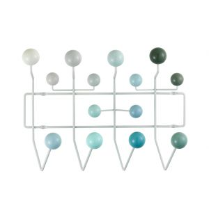 Hang It All Hooks in White Multitone