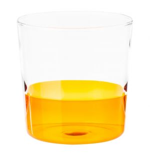 Light Water Tumbler Amber & Clear