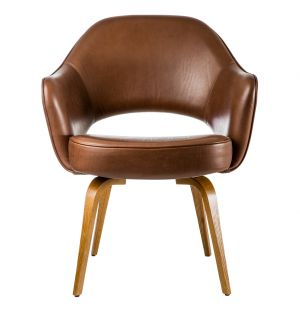 Saarinen Conference Armchair Venezia Leather