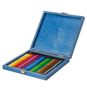 Set of 24 Woodless Coloured Pencils