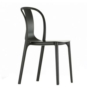 Belleville Side Chair Black