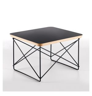 LTR Table Black With Dark Base