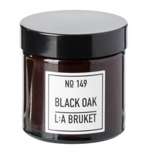 No.149 Scented Travel Candle Black Oak