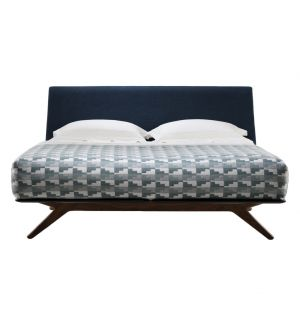 Hepburn Bed Walnut Super King Size