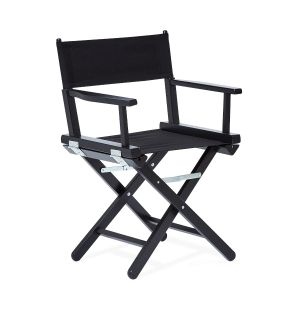 Director's Chair in Black Stained Beech