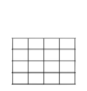 Krossing Shelving Unit 133 x 100cm