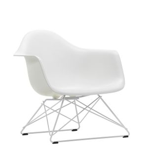 LAR Plastic Armchair in White