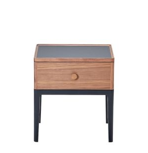 Monument 1-Drawer Bedside Table