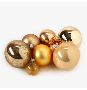 Gold Christmas Tree Decoration Collection