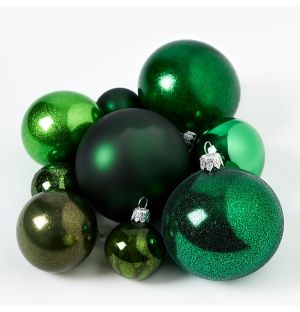 Green Christmas Tree Decoration Collection