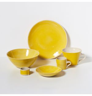Brights Side Plate in Yellow