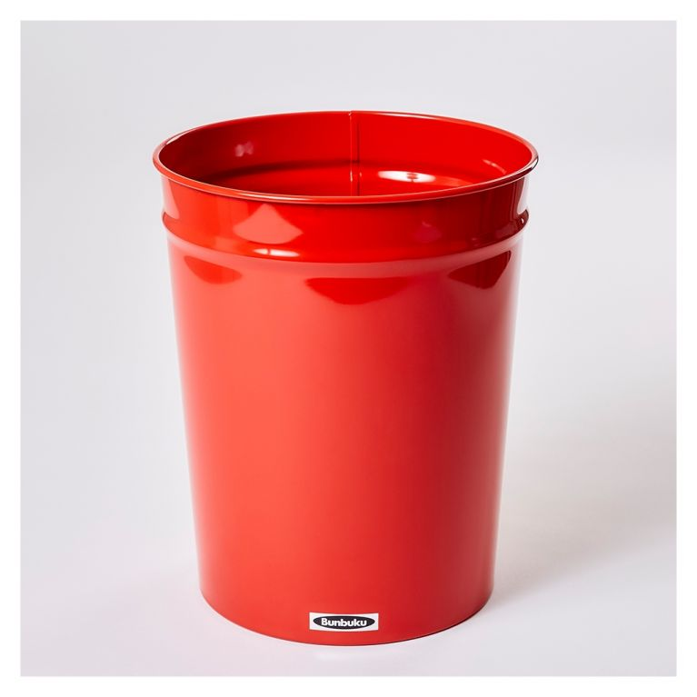 Tapered Waste Basket Small Red By Bunbuku At The Conran Shop