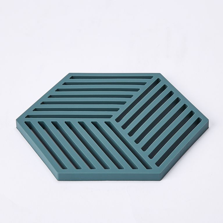 Hexagon Trivet In Cactus By Zone Denmark At The Conran Shop