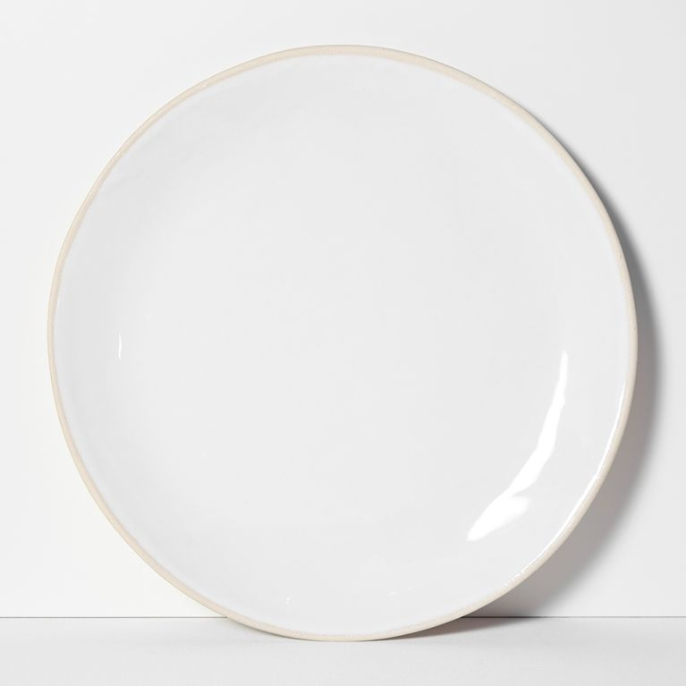 Organic Sand Dinner Plate White 31cm By Wonki Ware At The Conran Shop