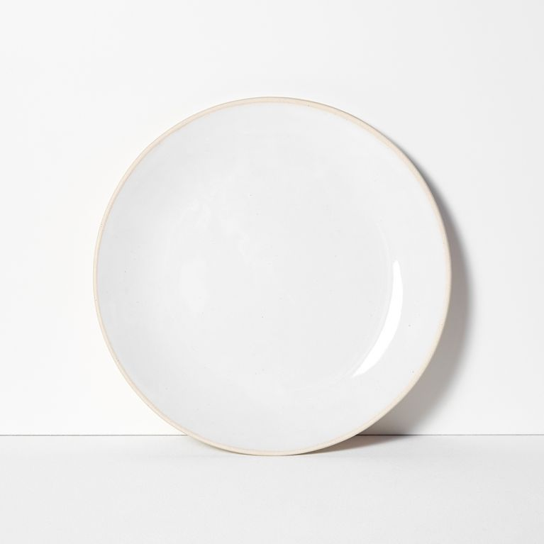 Organic Sand Dinner Plate White 28cm By Wonki Ware At The Conran Shop