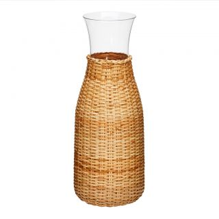 Rattan Covered Carafe