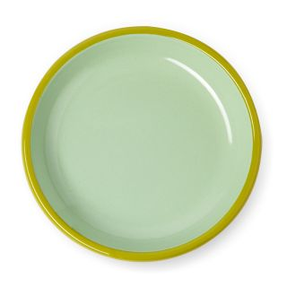 Plate in Mint & Chartreuse