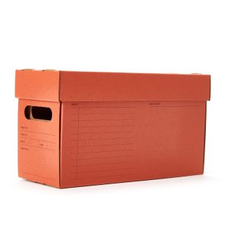 A7 Archive Box in Red