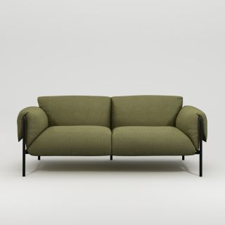 Fold Outdoor 2-Seater Sofa with Arms
