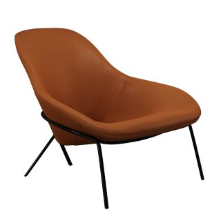 Cross Leg Lounge Chair